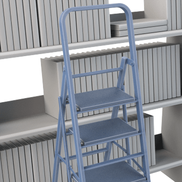 Folding Step Stands Gamut