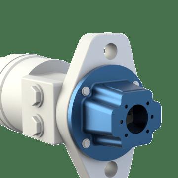 Hydraulic motor gear pump adapters gamut for Hydraulic pump motor adapter