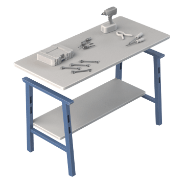 Modular Work Benches Gamut
