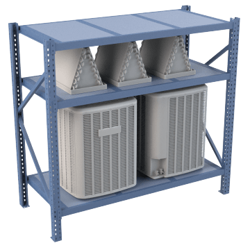 Heavy Duty Steel Framed Racks