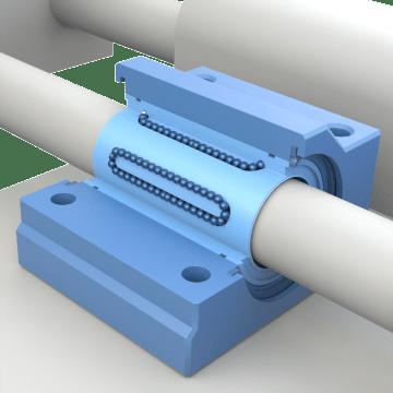 Base-Mount Linear Ball Bearing Units