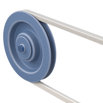 Single-Groove V-Belt Pulleys