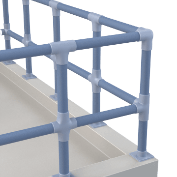Modular Pipe Railings