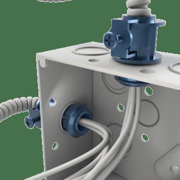 Flexible Conduit Saddle-Grip Connectors