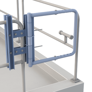 Self-Closing Safety Gates