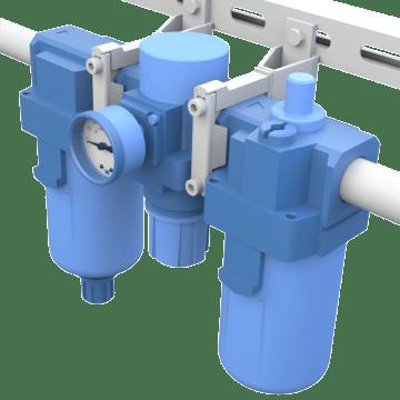 Filters, Regulators, & Lubricators (FRL) Combination Units