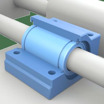 Base-Mount Linear Sleeve Bearing Units