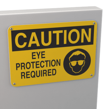 Eye & Face Protection Signs