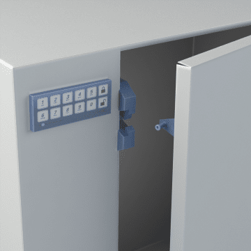 Keyless Access Locks for Cabinets & Drawers
