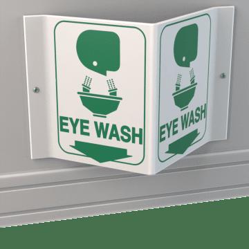 Emergency Eyewash & Shower Signs
