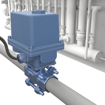 Electronic Industrial Metal Ball Valves