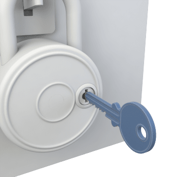 Padlock Control Keys