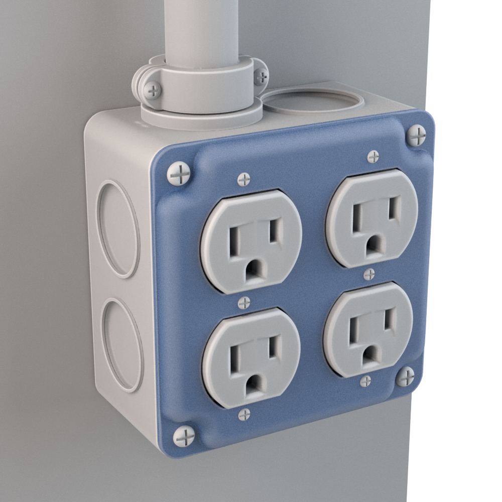 Duplex Outlet Box Covers