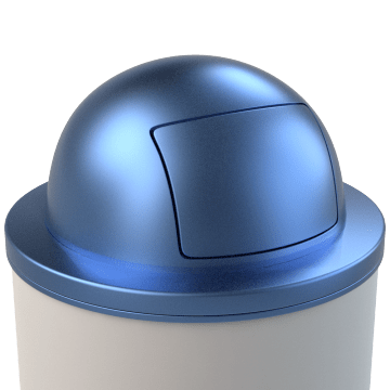 Metal Trash Container Lids