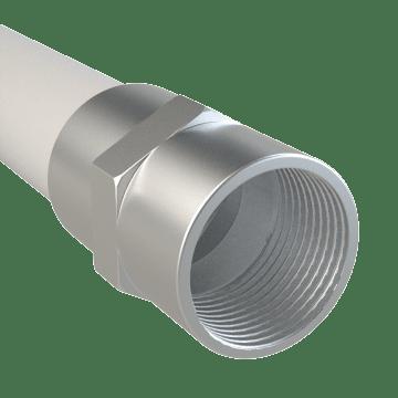 Threaded Aluminum Pipe Fittings