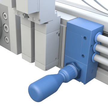 Hand-Actuated Manual Directional Control Valves