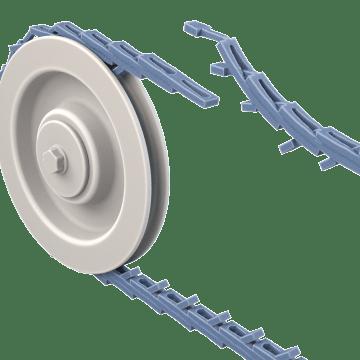 Adjustable-Length Link-Style V-Belts