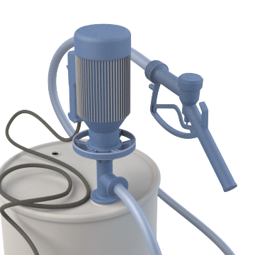 Electrically-Operated Drum & Barrel Pumps