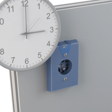Clock Hanging Receptacles