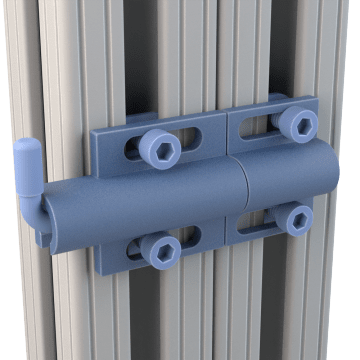 Latches & Catches for Structural Framing Extrusions