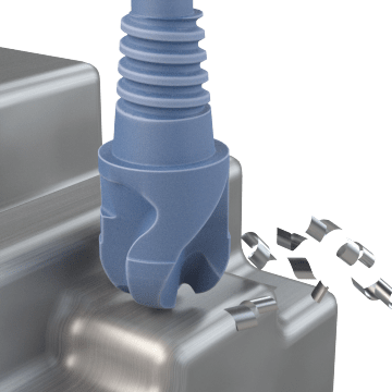 Exchangeable Ball End Mills