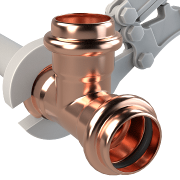 Copper Press Pipe Fittings