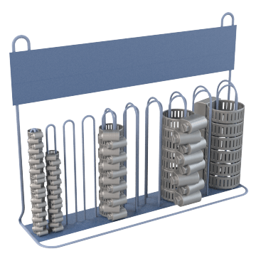 Hose Clamp Racks