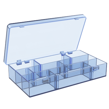 Compartment Boxes with Adjustable Dividers