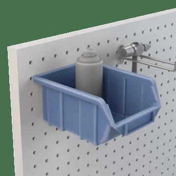 Pegboard Shelves & Bins