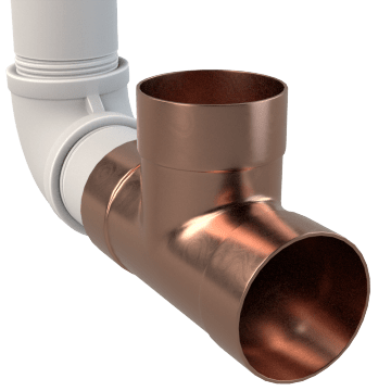 Wrot Copper Drain, Waste, & Vent Fittings