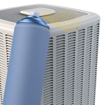 HVAC Outside Unit Cleaner & Protectants