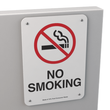 No Smoking & Restricted Activity Signs