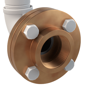Red Brass Pipe Flanges