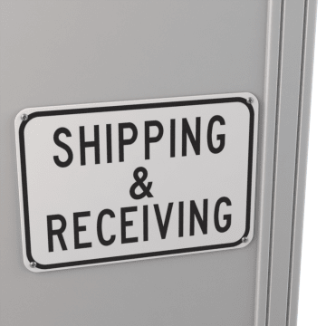 Material Handling, Shipping, & Receiving Signs