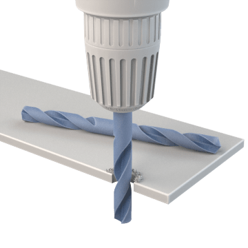 Double-Ended Drill Bits for Sheet Metal