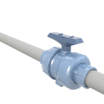 Manual Commercial Plastic Ball Valves