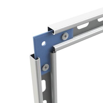 Strut Channel  Corner Plate Connectors