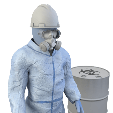 Chemical Splash-Resistant Clothing