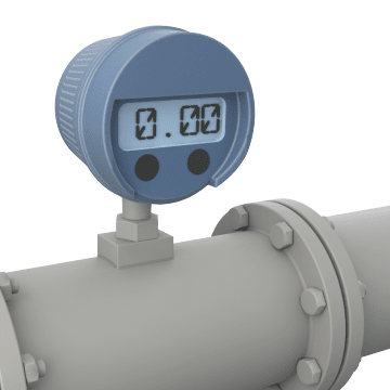 Electronic Digital Display Flowmeters