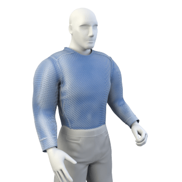 Flame-Protection Long Underwear Tops