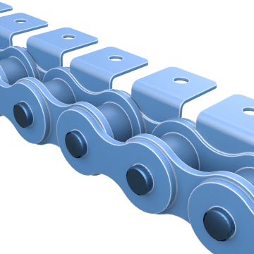 Roller Chain Attachment Links