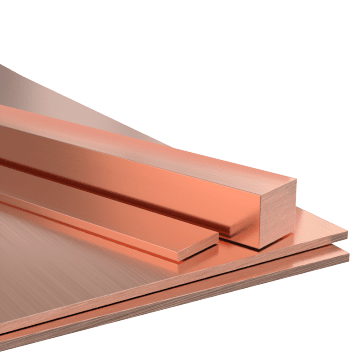 Copper Sheets, Strips, & Bars