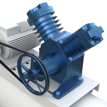 Dual-Stage Compressor Pumps