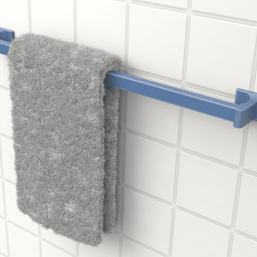 Bathroom Wall Hooks, Hangers, Towel Bars, & Clotheslines