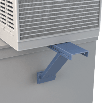 Support Brackets for Window & Wall Mount Air Conditioners
