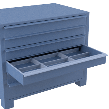Compartment Box Drawer Cabinets