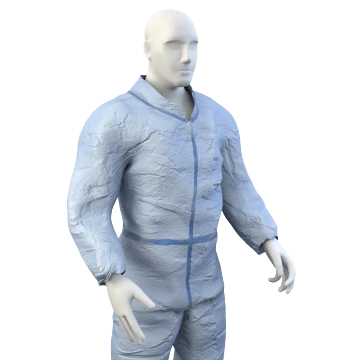 Chemical Splash-Resistant Coveralls