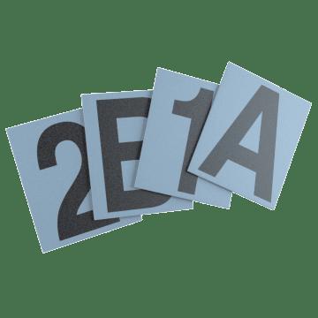 Number & Letter Labels