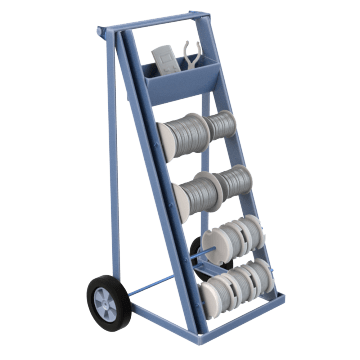 Wire Spool Carts & Caddies