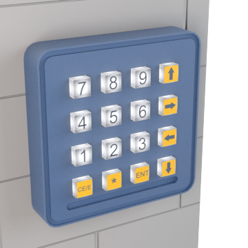 Facility Access Control Keypads